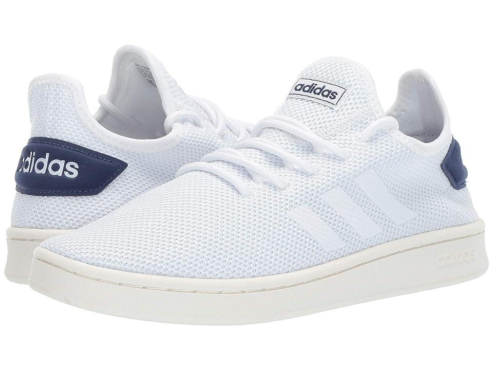 adidas Court Adapt (Footwear White/Footwear White/Dark Blue) Men