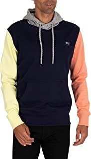 Superdry Men's Collective Holcombe Pullover Hoodie, Blue