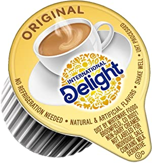 International Delight, Original, Single-Serve Coffee Creamers, 384 Count (Pack of 1), Shelf Stable Non-Dairy Flavored Coffee Creamer, Great for Home Use, Offices, Parties or Group Events