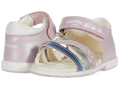 Geox Kids Verred 24 (Toddler) (Pink) Girl
