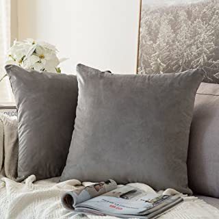 Best grey throw pillow cases Reviews