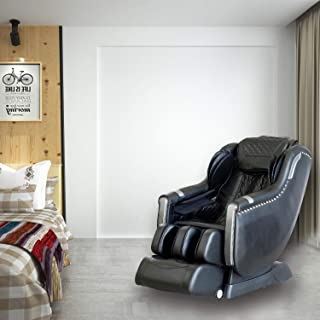 Swedish Full Body Affordable Electric Massage Chair with Armrest Linkage System Premium L-Track Smart Massage Chair with Triple Foot Rollers