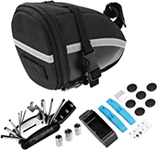 Bike Repair Tool Kits Bicycle Saddle Bag Cycling Seat Pack 14 in 1 Multi Function Repair Tool Kit