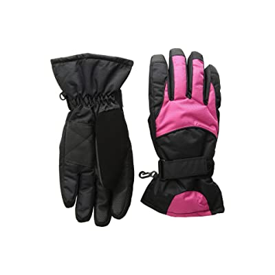 Tundra Boots Kids Nylon Gloves (Dusty Rose) Extreme Cold Weather Gloves