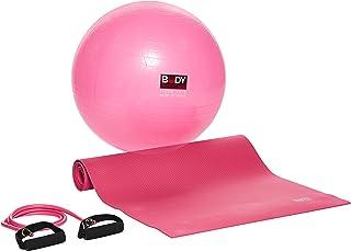 Body Sculpture SOLX-BB-636DPK-B Yoga Set Plus, Pink