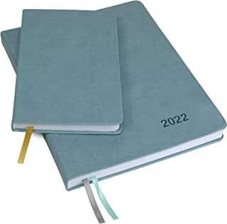 """2022 Planner: Extra Thick Paper 8""""x10"""" Resolute Planner with, 14 Months (November 2021 Through December 2022) Weekly Calen... photo"""