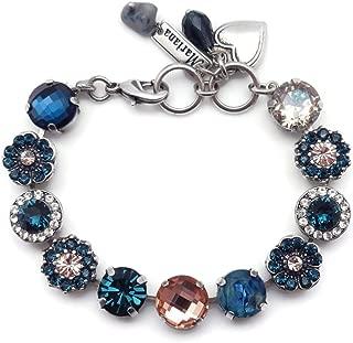 swarovski silk bracelet