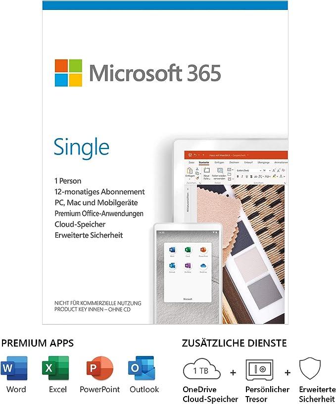 kosten microsoft 365 single