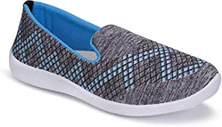 Shoefly Women's 5045 Grey Casual Sneakers Loafers Shoes