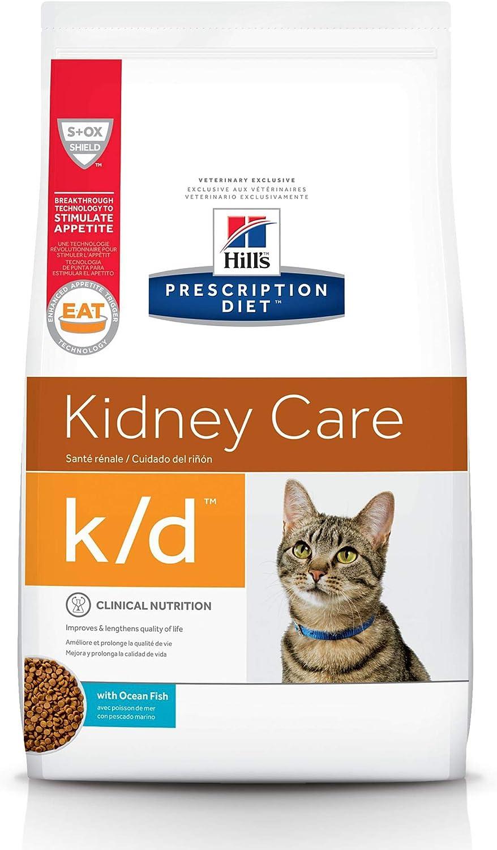Recommendation Hill's Prescription Diet k d Kidney Cat Veterinar Care Food Dry sale