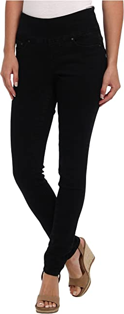 Nora Pull-On Skinny in Black Void