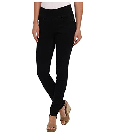 Jag Jeans Nora Pull-On Denim Skinny Jean (Black Void) Women