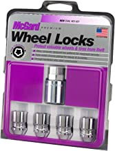 McGard 24154 Chrome Cone Seat Wheel Locks (M12 x 1.25 Thread Size) – Set of 4