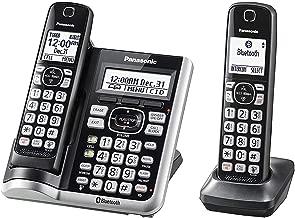 Panasonic KX-TGF572S Cordless/Corded Phone and Answering Machine with 2 Handsets(Renewed)