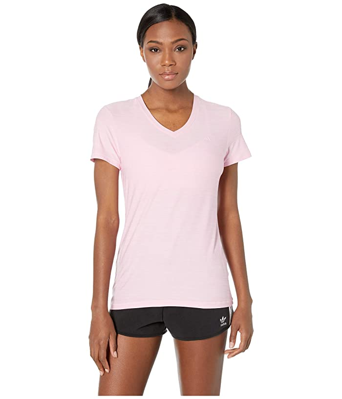 adidas Tech Tee (True Pink Heather) Women