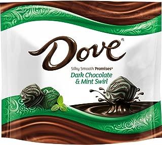 Dove Promises Dark Chocolate Mint Swirl Candy Bag, 7.61 Oz