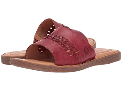 Born St. Francis (Red Full Grain Leather) Women