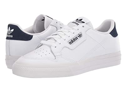adidas Originals Continental Vulc (Footwear White/Footwear White/Collegiate Navy) Men