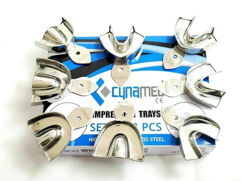 Premium German Dental Impression Trays Alternative dealer Set of -X-Small 8 Al sold out. M Small