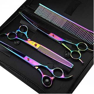 Best purple dragon dog grooming scissors Reviews