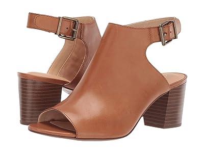 Clarks Deloria Gia (Tan Leather) High Heels