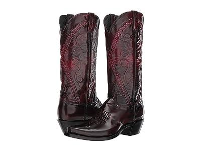 Lucchese Darlene (Black Cherry Goat) Cowboy Boots