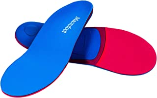 Orthotics Shoe Insoles/Inserts/Pads with High Arch Supports for Women&Men,Plantar Fasciitis Boot Insole Over Pronation Metatasus Insoles (127Blue, Mens 7-7 1/2 | Womens 9-9 1/2(10.24