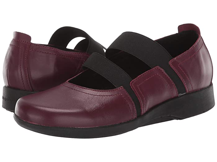 Arcopedico  Betsy (Burgundy) Womens Shoes