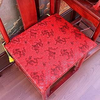 中国語 マホガニー チェアパッド スポンジ 食品 スクエア Rectanglefurniture 保護カバー ソファーの Slipcover スリップ 太子の椅子 チェアクッション-v 38x45cm