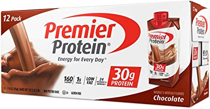 Premier Protein 30g Chocolate Protein Shakes,11 Fluid Ounces,