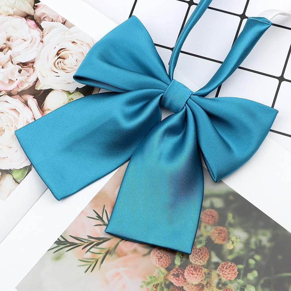 LQGSYT Women's Shirts Bowtie Ladies Girl School Wedding Party Bowknot Classic Butterfly Knot Suits Accessories (Color : C)