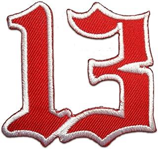 Parches - número de la suerte 13 - varios colores seleccionables - 6 x 6 cm - by catch-the-patch® termoadhesivos bordados ...