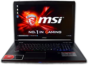 CUK MSI GE72 Apache Pro 17.3-inch i7-5700HQ 16GB 512GB SSD + 2TB HDD NVIDIA GeForce GTX 970M 3GB Full HD Windows 10 Gaming Laptop Computer