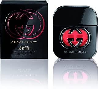 Gucci Eau de Toilette Spray for Women, Guilty Black, 1.6 Fl Oz