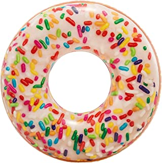 Intex Rainbow Sprinkle Donut Tube, Multi-Colour, 56263