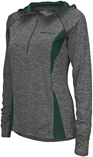 Colosseum Womens Oregon Ducks Quarter Zip Wind Shirt