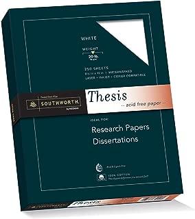 Best acid free thesis paper Reviews