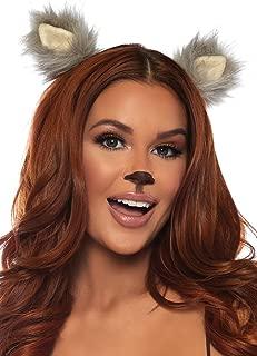Leg Avenue Women's 2 PC Furry Animal Ear Clips