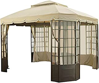 garden oasis bay window gazebo replacement canopy