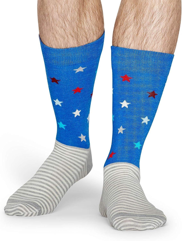 colorful fun /& comfortable socks womens socks Parkhaus White Unisex Crew Socks mens socks