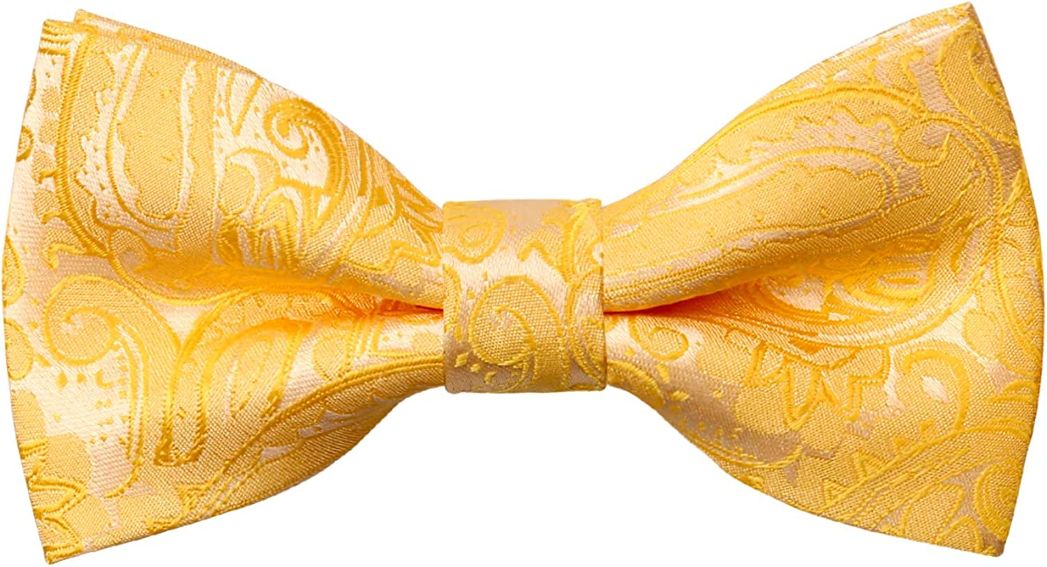Alizeal Complete Free Shipping Solid Banded Adjustable Length Pre-tied Max 40% OFF Tie Boy's Bow