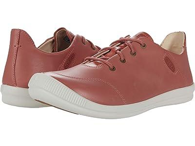 KEEN Lorelai II Sneaker (Brick Dust/Star White) Women