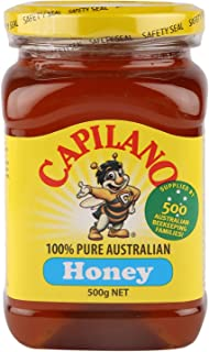Capilano Honey Clear Honey Square Jar 500g