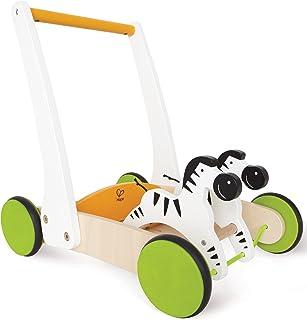 Hape Galloping Zebra Cart E0373 HAP-E0373, Multi Color