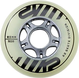 Juego de 4 ruedas de repuesto para patines en línea, 80 mm, de K2, 30B3004.1.1