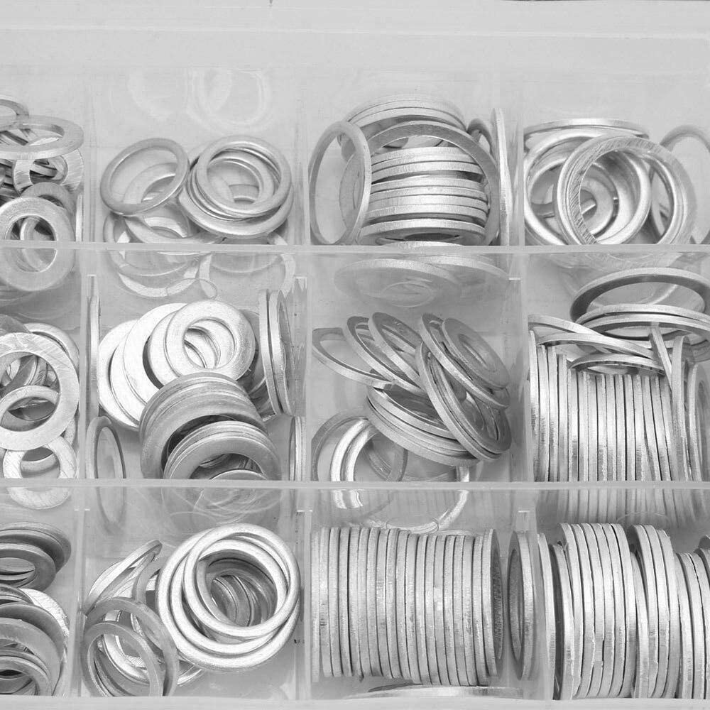 Lysee Washers Large discharge sale - Oil Drain Aluminum Gaskets Purchase Plug Assorted