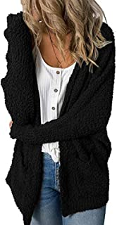 New Sweater Women V-Neck Loose Cardigan Double Pockets Sweater Coat Female Long Solid Knitted Winter Clothes Women