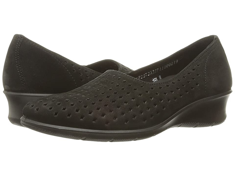 ECCO Felicia Summer Slip-On (Black) Women