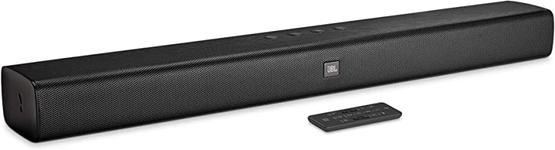 JBL Bar Studio Wireless Soundbar with JBL Surround Sound & Built-in Dual Bass Port (30W, Black)