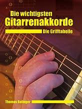 Die wichtigsten Gitarrenakkorde - Die Grifftabelle (German Edition)